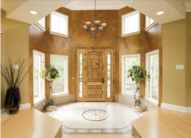 Beautiful Marble Foyer